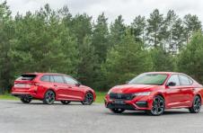 全新斯柯达明锐RS增加242马力汽油,197马力柴油动力总成