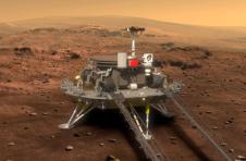"""中国的""""天文一号""""火星探测器远离地球"""