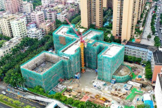 中国二十二冶跑出特区加速度——广东公司黄埔小学扩建工程侧记